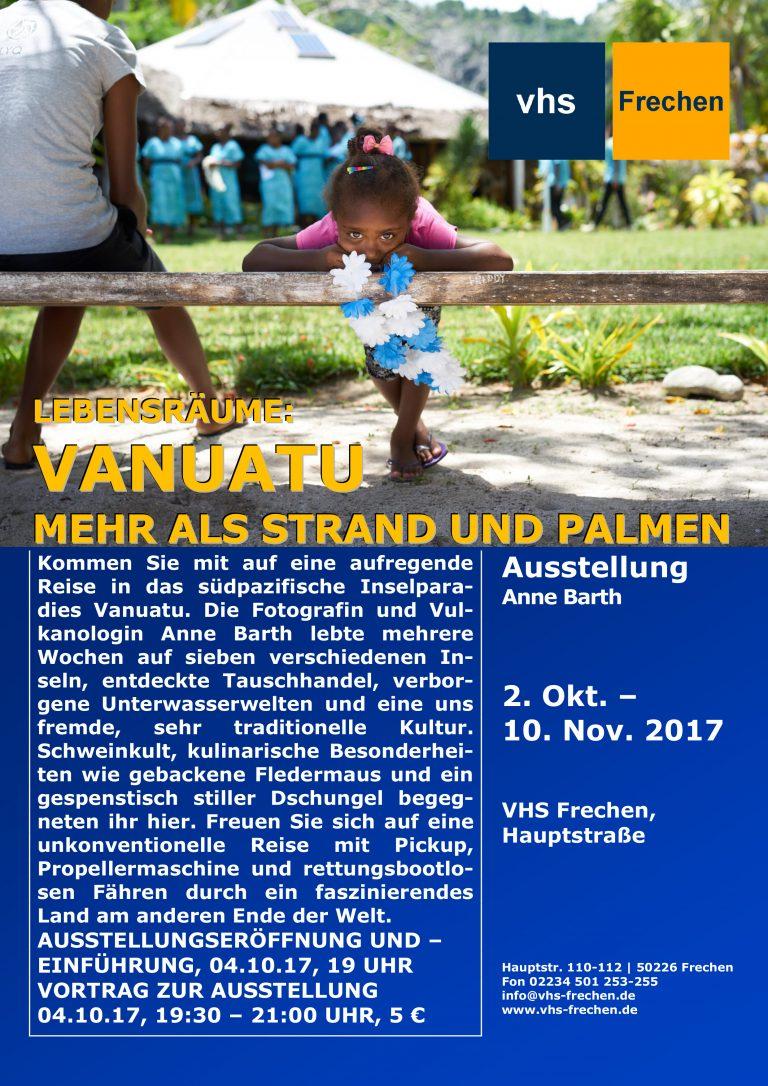 Vanuatu – Ausstellung und Vortrag