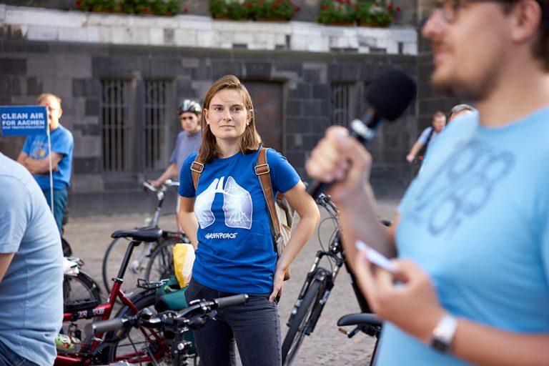 BlueRide Aachen | Greenpeace