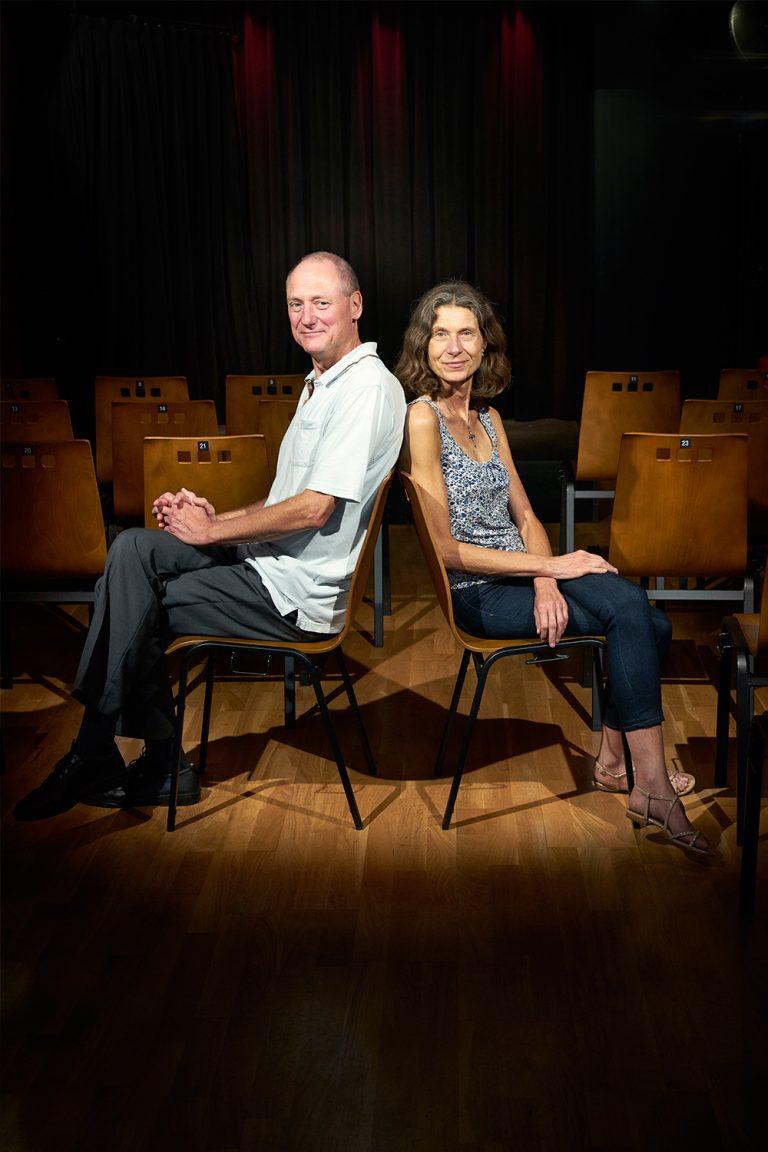 Portrait Corinne und Frank Kabarett A-Z