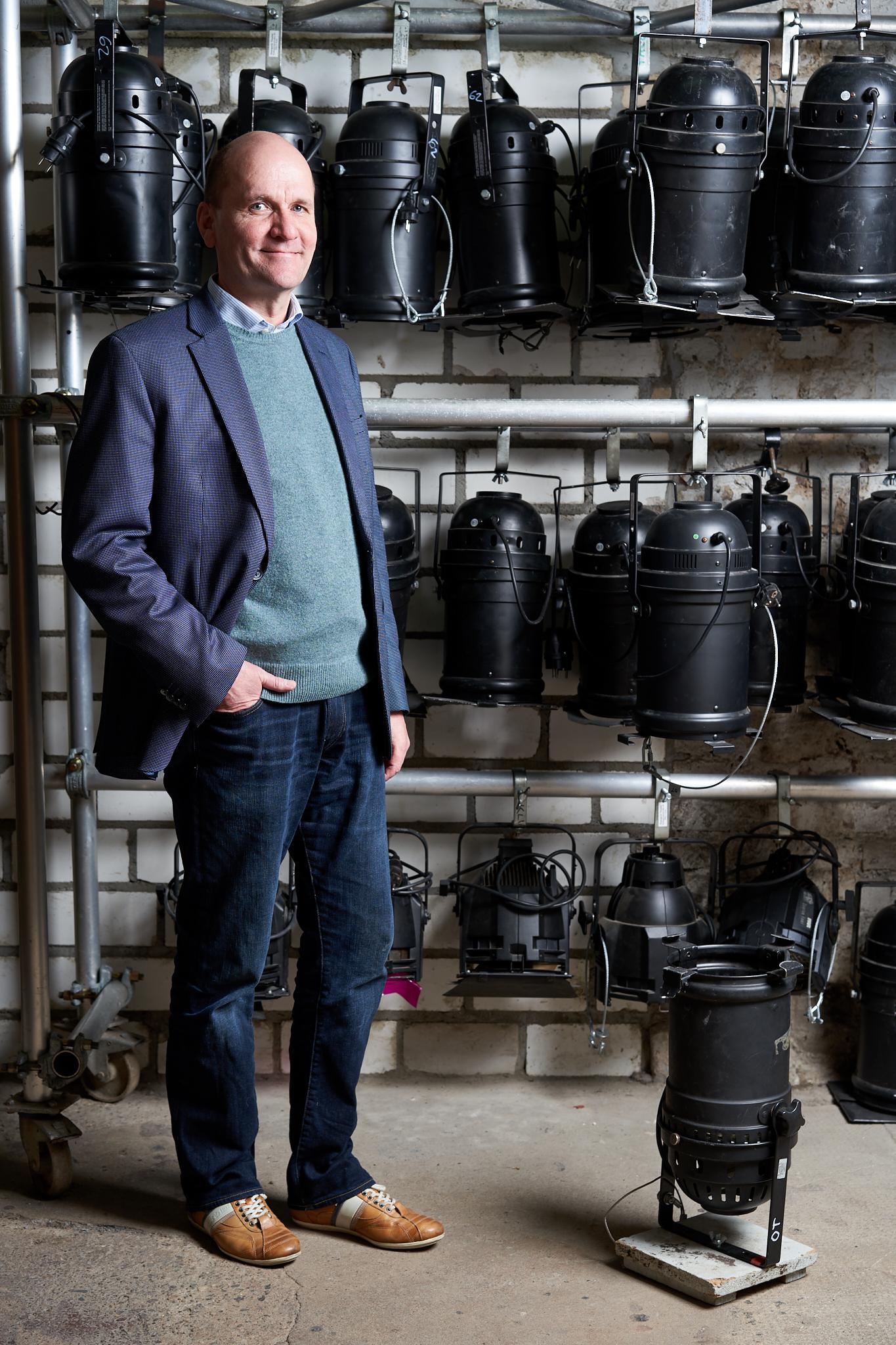 Portrait: Marko Berger von der Orangerie